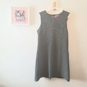 Striped Midi Dress size Large
